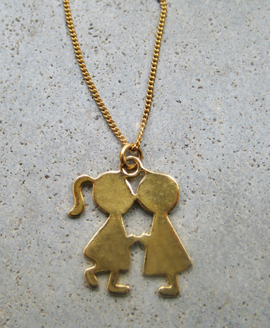 Girl & Boy Pendant - ta552