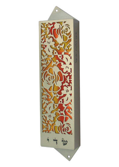Love Birds Mezuzah - me205m