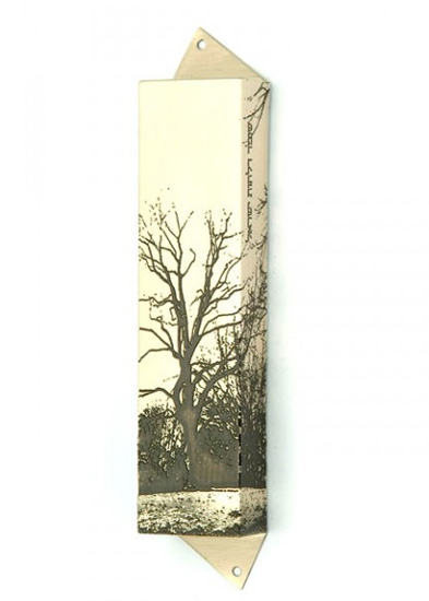Giving Tree Mezuzah - me602s